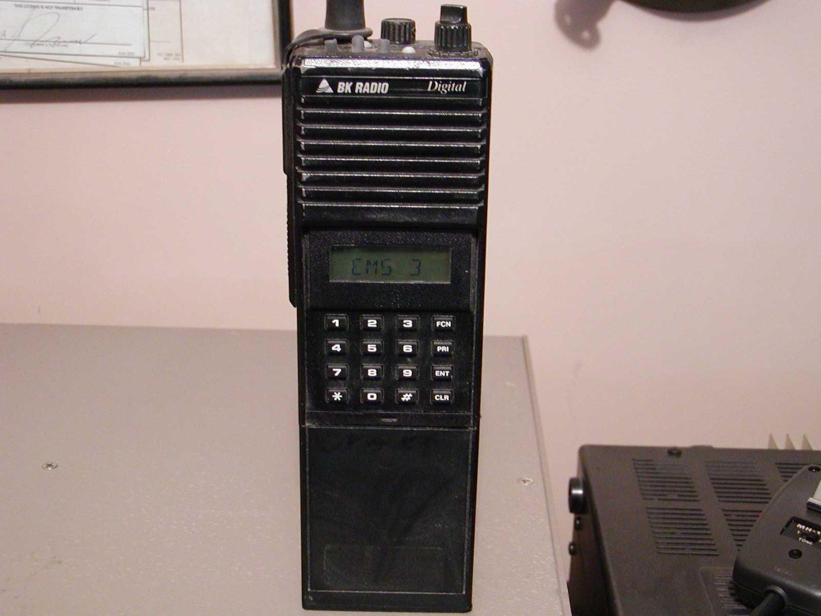 Programming from computer AN/PRC-127 BK Radio DPHx5102x ...
